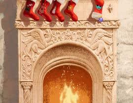 #13 for Christmas Fireplace Scene by SlavikBarabash