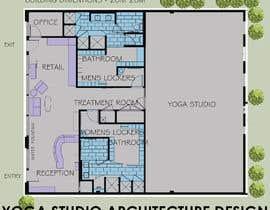 Nro 9 kilpailuun Design a yoga studio käyttäjältä Arkhitekton007