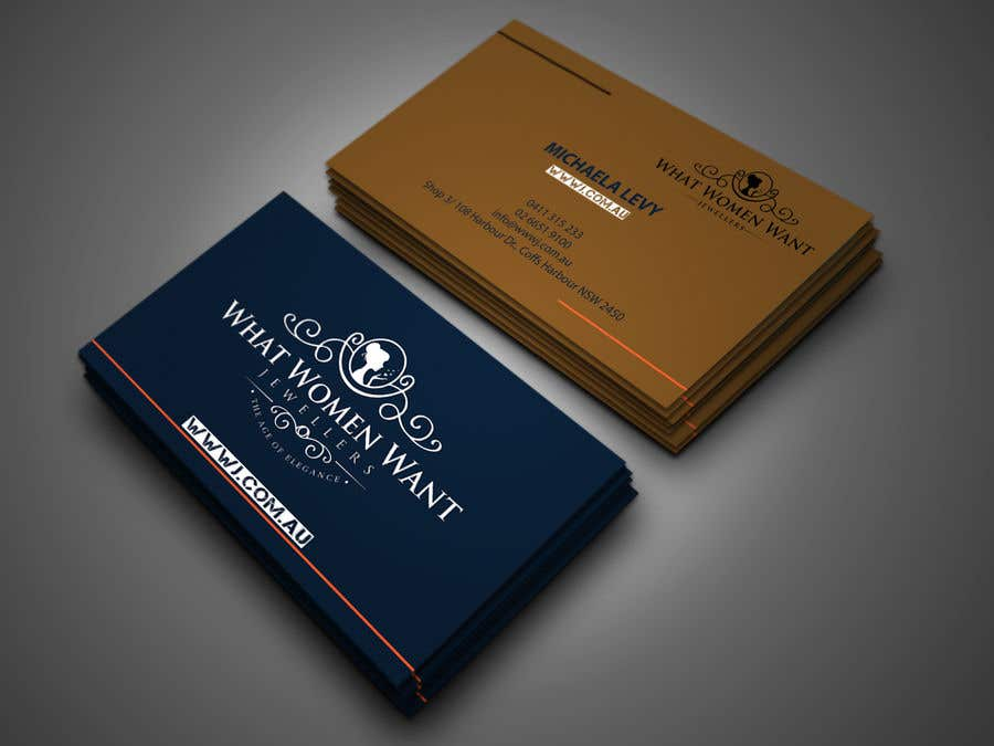 Entry #174 by shajeeb1952 for Design a Business Card for my ...