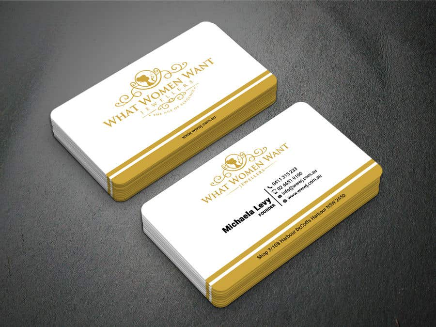 jewellers visiting card design  collection of precious