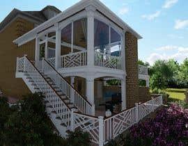 pavelleonua tarafından I need a 3d view & perspective of my building plan, with elevation options. için no 12