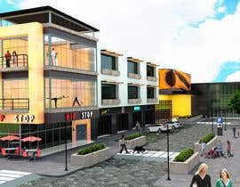 FcoJEscalante tarafından I need a 3d view & perspective of my building plan, with elevation options. için no 14