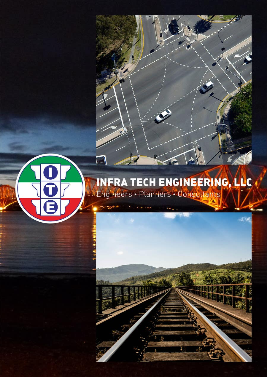 design a brochure for civil engineering consulting company
