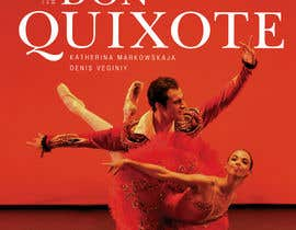 nº 170 pour Graphic Design for Classical ballet event called Don Quixote par skurt