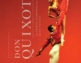nº 51 pour Graphic Design for Classical ballet event called Don Quixote par skurt