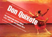 Contest Entry #208 for Graphic Design for Classical ballet event called Don Quixote