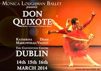 Graphic Design Contest Entry #220 for Graphic Design for Classical ballet event called Don Quixote