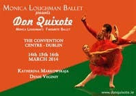#130 for Graphic Design for Classical ballet event called Don Quixote by aqshivani