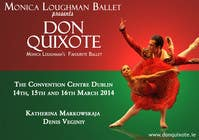 #154 for Graphic Design for Classical ballet event called Don Quixote by aqshivani