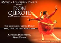 #165 for Graphic Design for Classical ballet event called Don Quixote by aqshivani