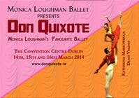 Graphic Design Contest Entry #96 for Graphic Design for Classical ballet event called Don Quixote
