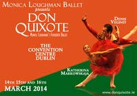 Graphic Design Contest Entry #227 for Graphic Design for Classical ballet event called Don Quixote