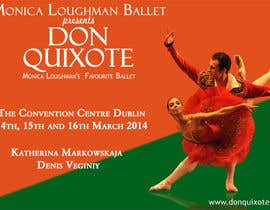 nº 99 pour Graphic Design for Classical ballet event called Don Quixote par aqshivani