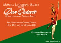 Graphic Design Contest Entry #98 for Graphic Design for Classical ballet event called Don Quixote