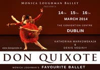 Contest Entry #183 for Graphic Design for Classical ballet event called Don Quixote