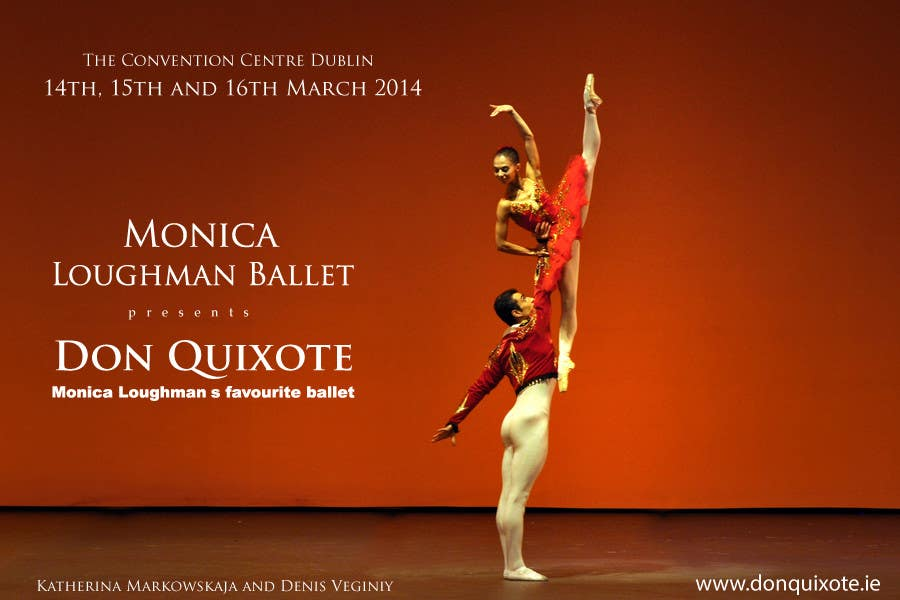 Contest Entry #2 for Graphic Design for Classical ballet event called Don Quixote