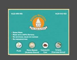 "#14 for Designs of ""DESI KOTHI ICE CREAM"" Logo, pamphlet, visiting card and banner by ErvinMF"