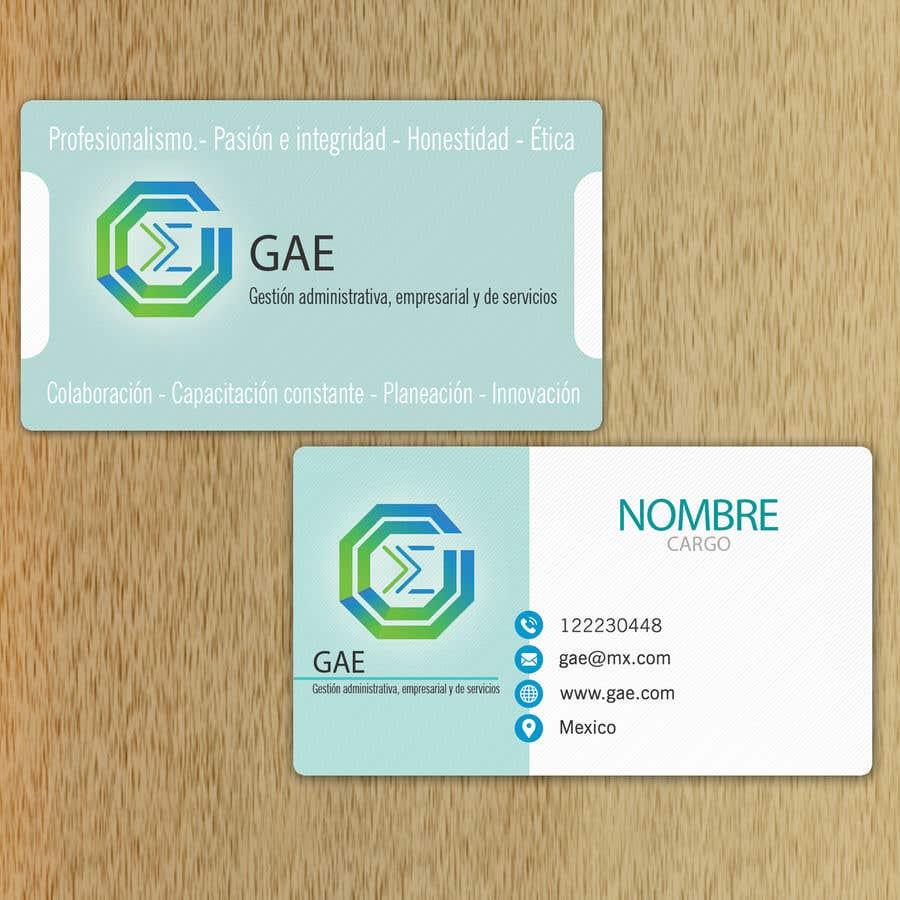 eb951fdffeb22 Entry  5 by marianayepez for Elaboracion de tarjetas de presentación ...