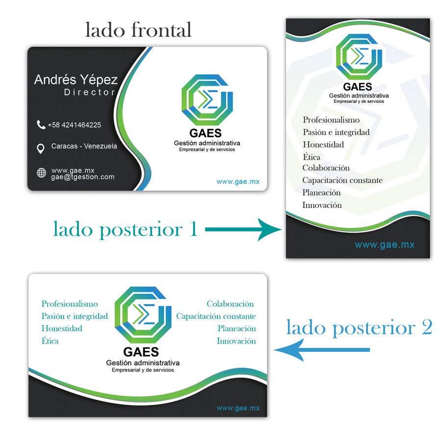 b4a2021b3719d Contest Entry  19 for Elaboracion de tarjetas de presentación