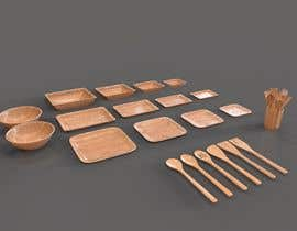 #9 for Simple Areca Plates 3D models needed in 3ds max by Burkii
