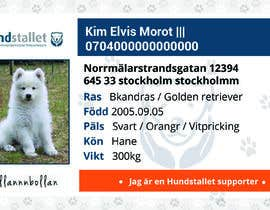 #79 cho Design a Pet ID-Card (for dogs and cats) bởi sanaparchana8