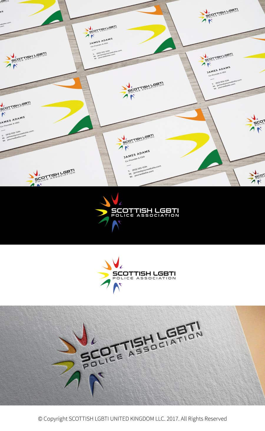 Konkurrenceindlæg #37 for Design a Logo - Scottish LGBTI Police Association
