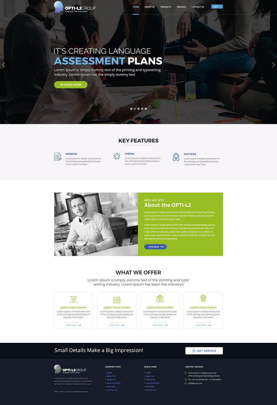 Contest Entry #94 for Website designs project (GO2L)