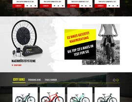#12 for Start Page e-bikes4you.com Shop by greenarrowinfo