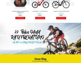#19 for Start Page e-bikes4you.com Shop by fourtunedesign