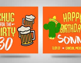 #9 for Design a koozie for a 30th birthday by PaulaKenz