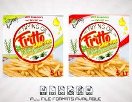 "#38 for Create Label Design for Frying Oil ""Fritto Chef"" by javier1rosari"