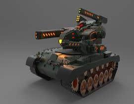 #9 for Paint 3D Mech Models - Contest 3. Tanks and a Missile Mech by heavenixz