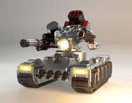#6 for Paint 3D Mech Models - Contest 3. Tanks and a Missile Mech by mostafanaga2006