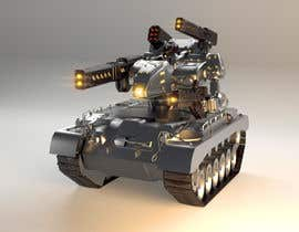 #16 for Paint 3D Mech Models - Contest 3. Tanks and a Missile Mech by mostafanaga2006