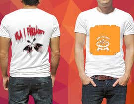 #31 cho Create a T-shirt design with text, flames, an axe and a sun chair! bởi kantibhusanroy
