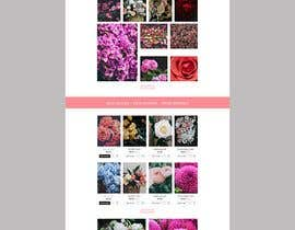 #8 for Flower Shop Website Homepage Layout   Design ONLY! Like 1800Flowers by kibriya01