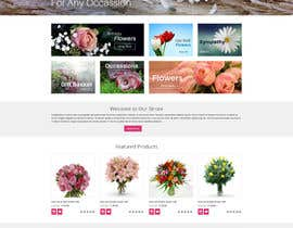 #36 for Flower Shop Website Homepage Layout   Design ONLY! Like 1800Flowers by sharmaweb1806