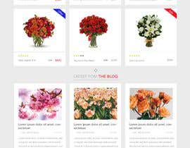#20 for Flower Shop Website Homepage Layout   Design ONLY! Like 1800Flowers by shantaakter1002