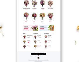#11 for Flower Shop Website Homepage Layout   Design ONLY! Like 1800Flowers by raquelroy