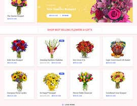 #5 for Flower Shop Website Homepage Layout   Design ONLY! Like 1800Flowers by LynchpinTech