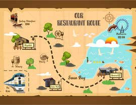 #13 for Tourist Vector Map by prayasdesign