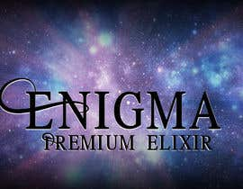 create print and packaging designs for enigma premium elixir
