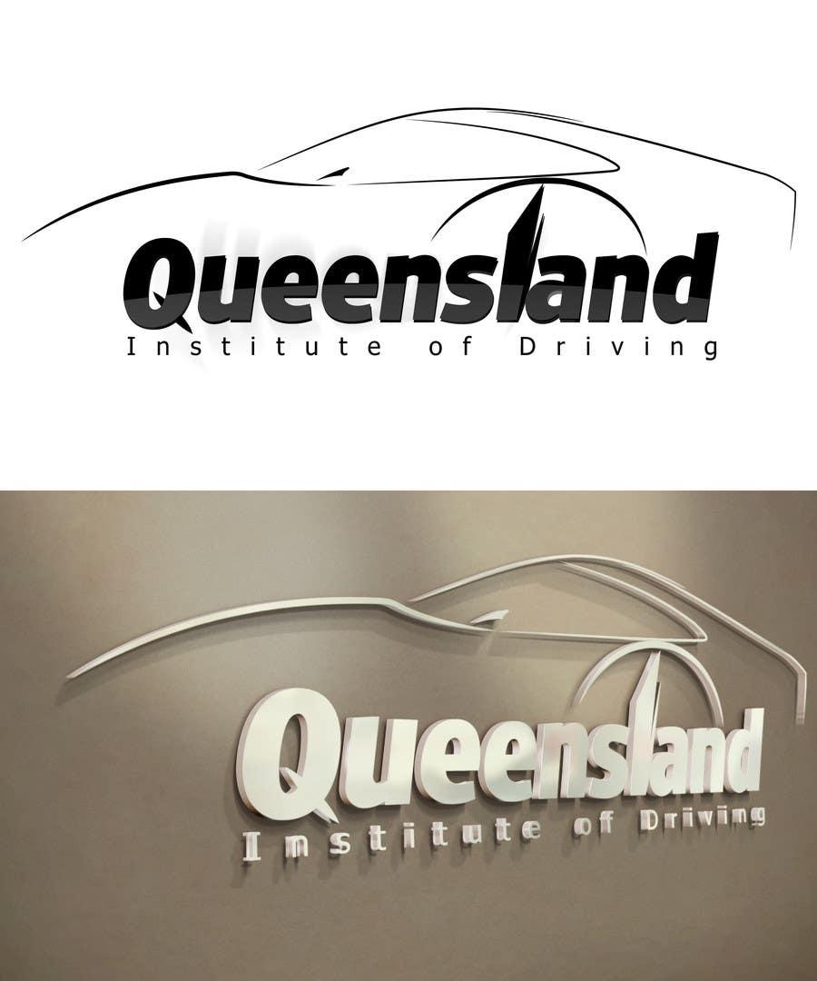 Konkurrenceindlæg #                                        225                                      for                                         Logo Design for Queensland Institute of Driving