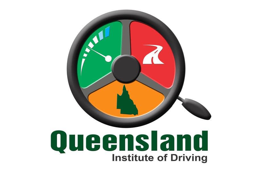 Inscrição nº                                         154                                      do Concurso para                                         Logo Design for Queensland Institute of Driving