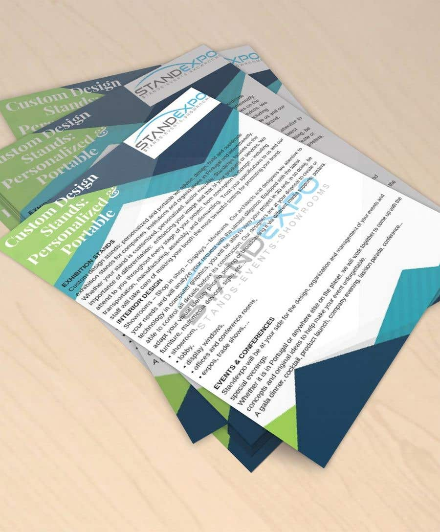Entry 95 By Gripgraphics11 For Design A Flyer A5 Our Company Brochure Custom