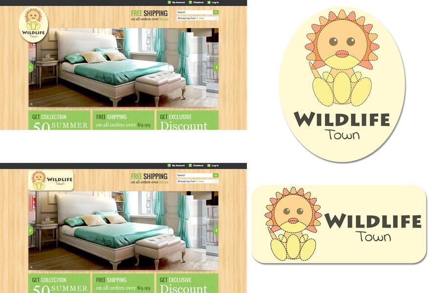 Конкурсная заявка №94 для Logo Design for Wildlife Town