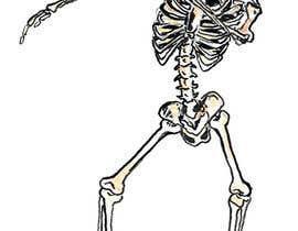 #18 for Pumpkin skeleton Dabbing Drawing by daniilandreev