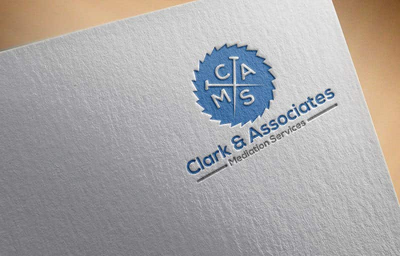 "Penyertaan Peraduan #16 untuk Logo for ""Clark & Associates Mediation Services"" which offers mediation services away from court for people involved in disputes. Key concepts: confidential, discussion, understanding, option generation, agreement, mutually beneficial outcome."
