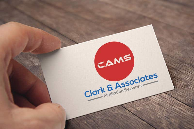 """Penyertaan Peraduan #19 untuk Logo for """"Clark & Associates Mediation Services"""" which offers mediation services away from court for people involved in disputes. Key concepts: confidential, discussion, understanding, option generation, agreement, mutually beneficial outcome."""