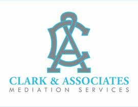 "#36 untuk Logo for ""Clark & Associates Mediation Services"" which offers mediation services away from court for people involved in disputes. Key concepts: confidential, discussion, understanding, option generation, agreement, mutually beneficial outcome. oleh WatershedLLC"
